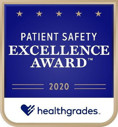 Centinela Hospital ranks among the top 5% nationally for patient safety for the 7th year in a row.